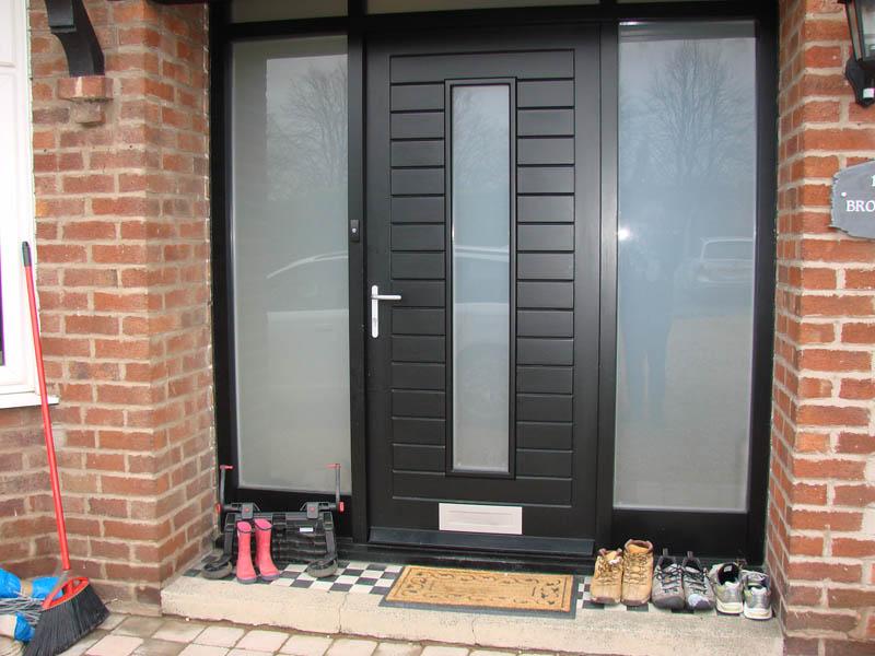 Modern Front Door, Chester